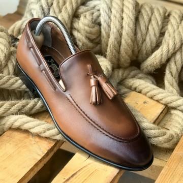 Pantofi Barbati din PIELE Naturala 100% cod: TK09
