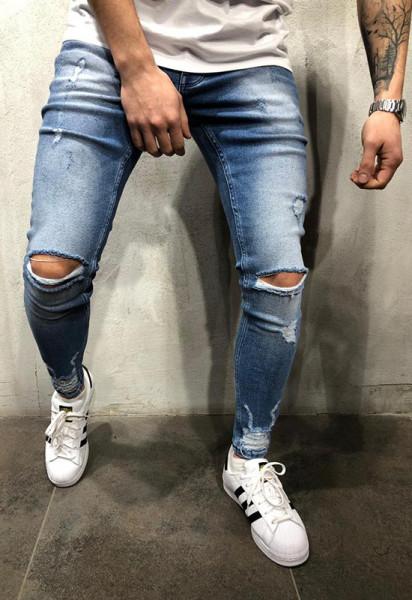 Poze Blugi Barbati Slim-Fit MODEL 2020 COD: BG623
