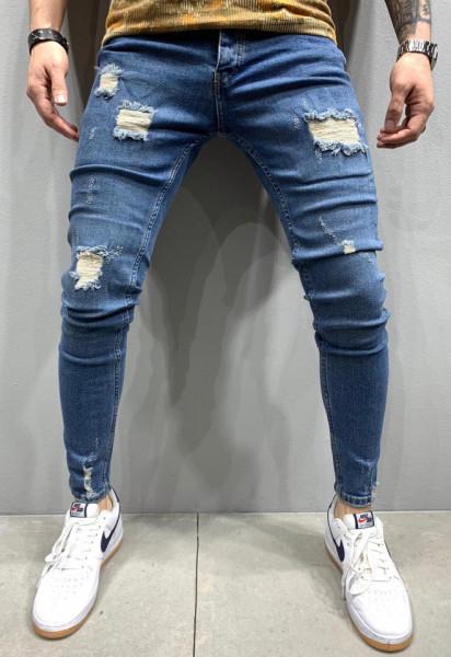 Poze Blugi Barbati Slim-Fit MODEL 2020 COD: BG646