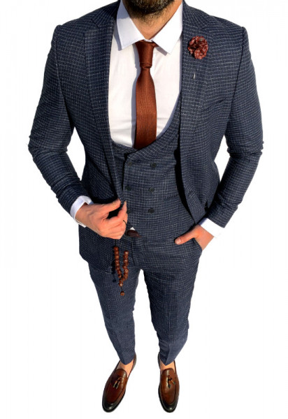 Poze Costum Office 3 Piese Model 2020 LIMITED EDITION cod: CTB437