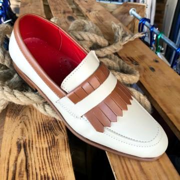 Poze Pantofi Barbati din PIELE Naturala 100% cod: 127BEJ