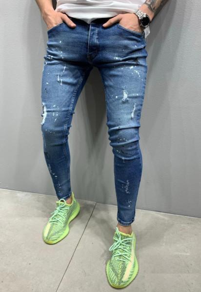 Poze Blugi Barbati Slim-Fit MODEL 2020 COD: BG688