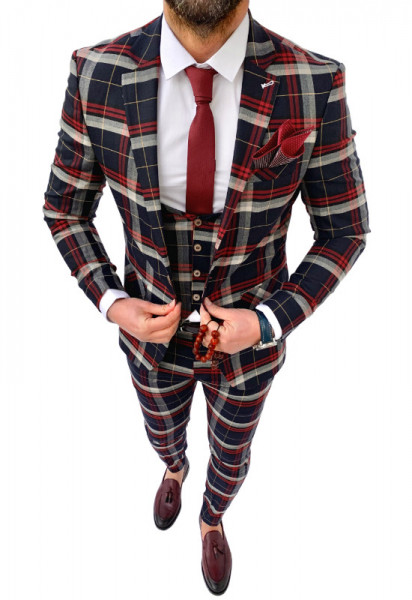 Costum Office 3 Piese Model 2020 LIMITED EDITION cod: CTB422