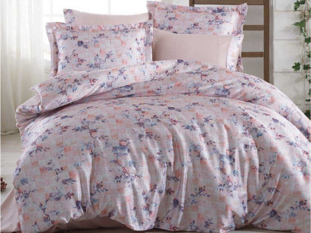 Lenjerie Pat 2 Persoane Hobby Isabella – Pink COD: 1405