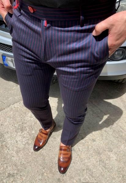 Poze Pantaloni Barbati Casual Model 2019 COD: PB256