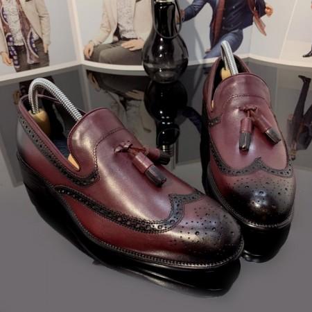 Pantofi Barbati din PIELE Naturala 100% cod: DV10