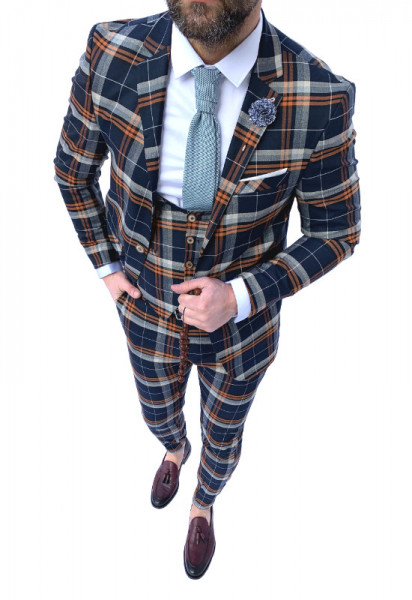 Poze Costum Office 3 Piese Model 2020 LIMITED EDITION cod: CTB430