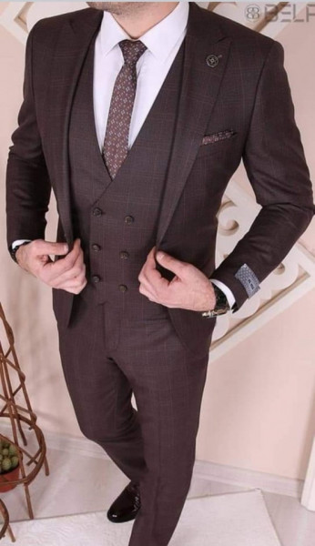 Costum Office 3 Piese Model 2021 LIMITED EDITION cod: CTB495
