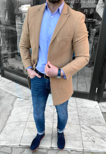Poze Palton Barbati de Primavara Cod: PT02