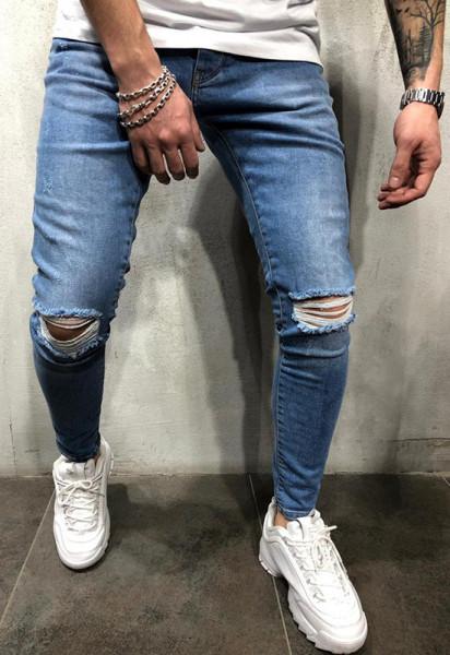 Poze Blugi Barbati Slim-Fit MODEL 2020 COD: BG625