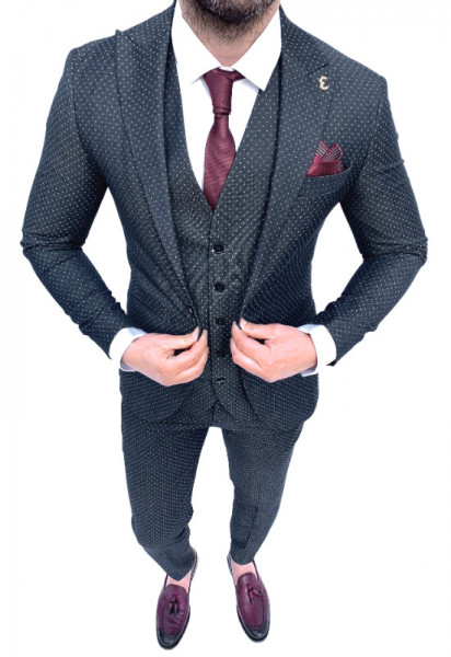 Poze Costum Office 3 Piese Model 2020 LIMITED EDITION cod: CTB451