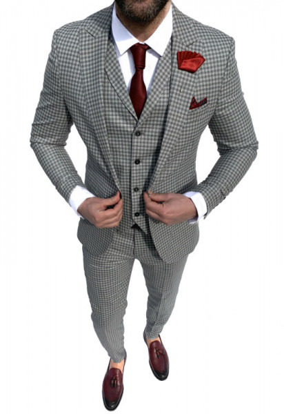Costum Office 3 Piese Model 2021 LIMITED EDITION cod: CTB443