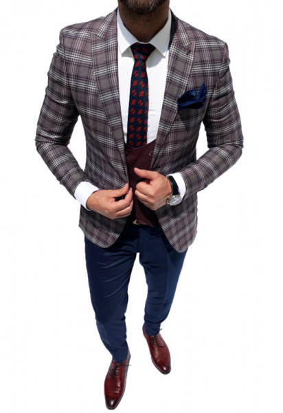 Costum Office 3 Piese Model 2021 LIMITED EDITION cod: CTB459