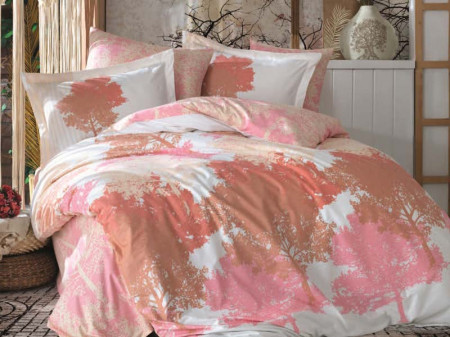 Lenjerie Pat 2 Persoane Hobby July-Pink COD:1028