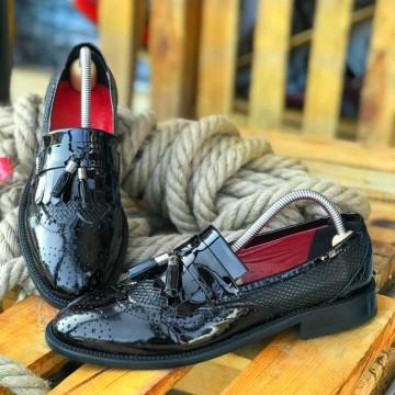 Poze Pantofi Barbati din PIELE Naturala 100% cod: DND06