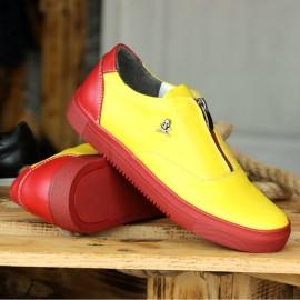 Poze Pantofi Sport din PIELE Naturala 100% cod: 244G