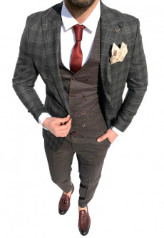 Costum Office 3 Piese Model 2021 LIMITED EDITION cod: CTB444