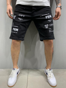 PANTALONI SCURTI PRM FASHION BLACK COD : PSAS36