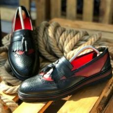 Pantofi Barbati din PIELE Naturala 100% cod: DND07
