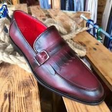 Pantofi Barbati din PIELE Naturala 100% cod: 128BORDO