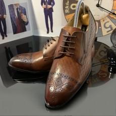 Pantofi Barbati din PIELE Naturala 100% cod: NVM28