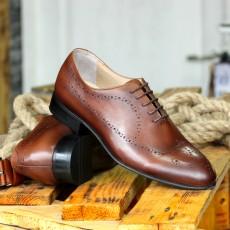 Pantofi Barbati Maro din PIELE Naturala 100% cod: nvm05