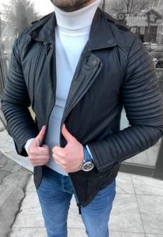 Geaca barbati piele ecologica cod: GB546