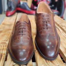 Pantofi Barbati din PIELE Naturala 100% cod: NVM46