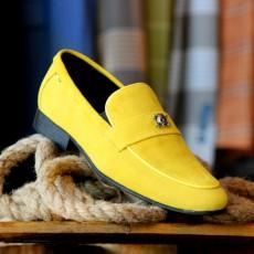 Pantofi din PIELE Naturala Intoarsa 100% cod: 477GS