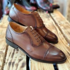 Pantofi Barbati din PIELE Naturala 100% cod: NVM34
