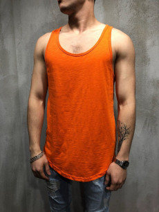 TRICOU SLEEVELES ORANGE COD : MIAS4