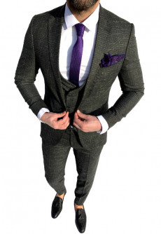 Costum Office 3 Piese Model 2021 LIMITED EDITION cod: CTB438