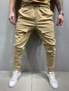 PANTALONI OFFICE POCKET BEIGE COD : BGAS440