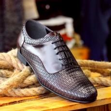 Pantofi Casual din PIELE Naturala 100% cod: 456Bordo