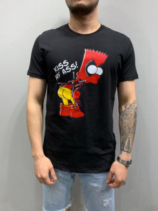 TRICOU BART FASHION BLACK COD : TSAS157