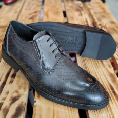 Pantofi Barbati din PIELE Naturala 100% cod: NVM45