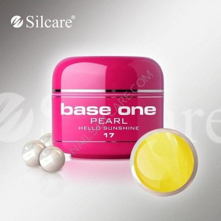 Gel UV Color Base One 5g Pearl 17 Hello Sunshine