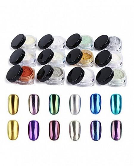 Pigment Oglinda Multicolor Set 12 G501