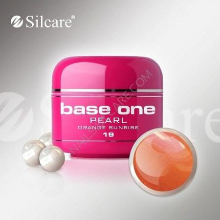 Gel UV Color Base One 5g Pearl 19 Orange Sunrise