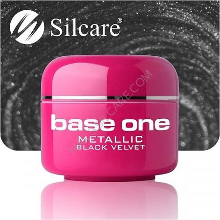 Gel UV Color Base One 5g Metalic Black Velvet 50