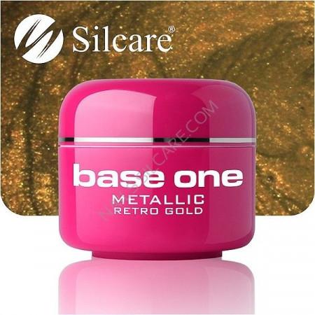 Gel UV Color Base One 5g Metalic Retro Gold 39