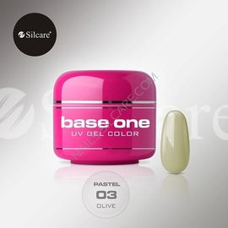 Gel UV Color Base One 5g Pastel 03 Olive