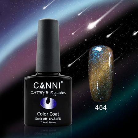Oja Semipermanenta CANNI CAMELEON-CAT EYES 7,3ml-454