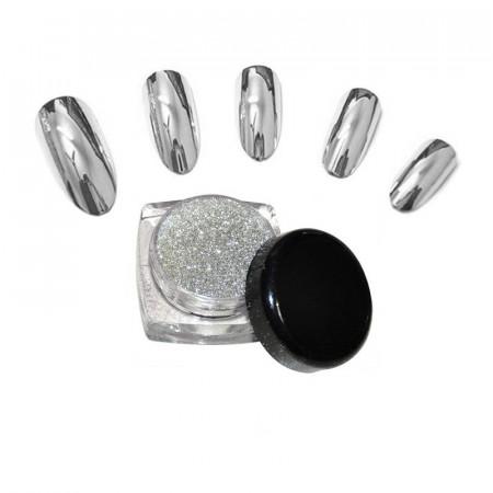 Pigment Oglinda set 12 Silver G501S-Calitate Premium