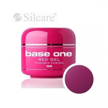Gel UV Color Base One 5g Red Fushia Fusion 04