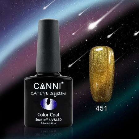 Oja Semipermanenta CANNI CAMELEON-CAT EYES 7,3ml-451