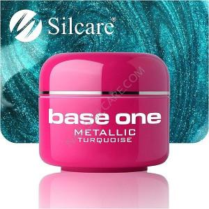 Gel UV Color Base One 5g Metalic Turquoise 06