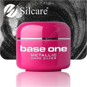 Gel UV Color Base One 5g Metalic Dark Silver 08