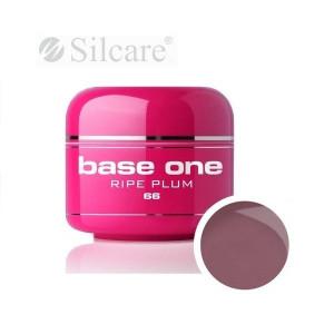 Gel uv Color Base One Silcare Clasic Ripe Plum 66