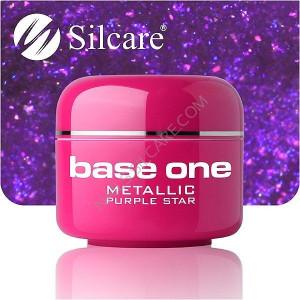 Gel UV Color Base One 5g Metalic Purple Star 45